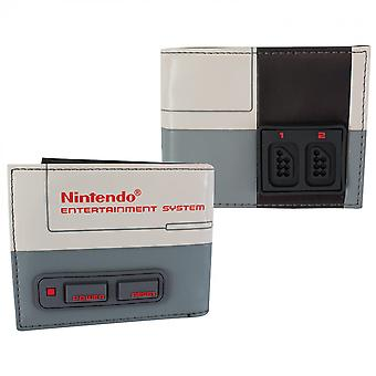 Nintendo Classic NES Raised Buttons Wallet
