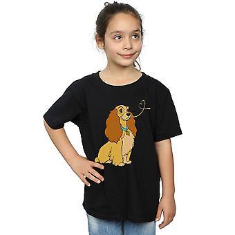 Disney meisjes Lady en de vagebond Lady spaghetti hart T-shirt