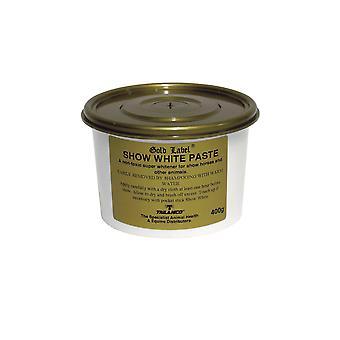 Gouden label-Toon witte pasta