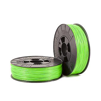 PLA 1,75mm green fluor 0,75kg - 3D Filament Supplies
