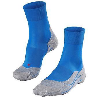 Falke Running 4 medelstora strumpor-Cinque Terre blå