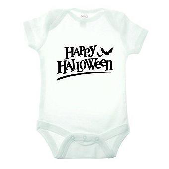 Hyvää Halloween bat lyhythihainen babygrow