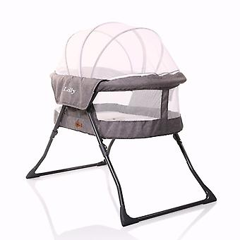 Cangaroo baby cot Lolly, travel cot, with mattress, canopy, foldable