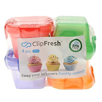 Clip verse Unisex 4 pack mini containers