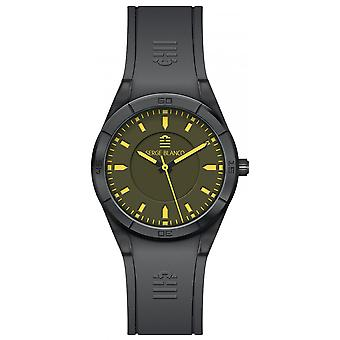 Serge Blanco All Colors SB1095-8 - watch Silicone green man