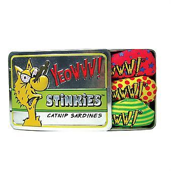 Yeowww Stinkies Catnip sardiner