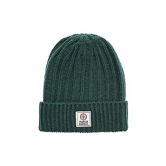 Franklin & Marshall Ua904 Ribbed Virginia vihreä pipo hattu
