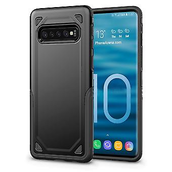 For Samsung Galaxy S10 5G Case, Shockproof Slim Protective Armour Cover, Black