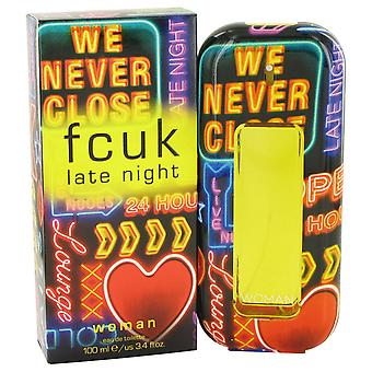 FCUK Late Night Woman by French Connection UK 100ml EDT Spray