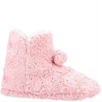 Divaz Womens/Ladies Lottie Knitted Bootie Slipper