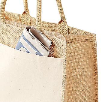 Westford Mill Pocket Jute Shopper