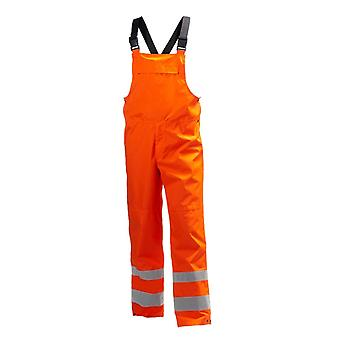 Helly hansen alta shelter hi vis class 2 waterproof bib 71570