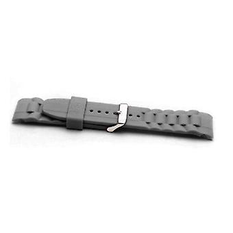 Authentic ice watch strap grey with stainless steel buckle