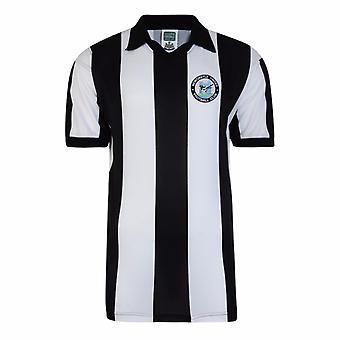 Newcastle United FC męskie urzędnik 1980 Retro koszula