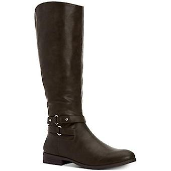 Style et Cie KINDELL Riding Boots Dark Olive 8M