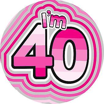 شارة التعبير المصنع النسائي/السيدات أنا العملاقة 40