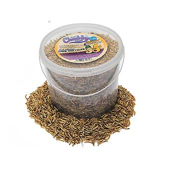 5 litre dried chubby mixes (mealworms & calci worms)