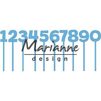 Marianne Design Creatables Cutting Dies - Pins Numbers LR0582