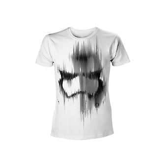 Star Wars - Faded Stormtrooper Men T-Shirt - White