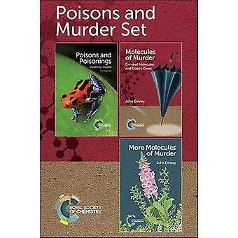 Poisons and Murder Set by John Emsley - 9781788011174 Book