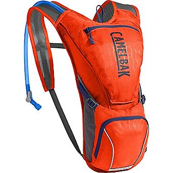 CamelBak Aurora - Unisex-Adult Hiking Backpack - Red/Blue - 2.5 L