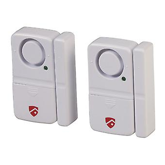TechBrands Window & Door Entry Alarm Twin Pack (110dB 4XLR44)