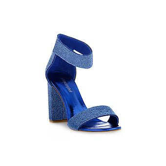 Jeffreycampbell lindsday blue combo sandals