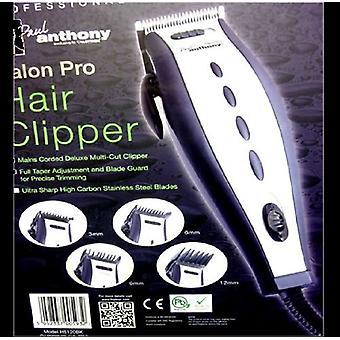 Lloytron Paul Anthony Salon Pro Hair Clipper Trimmer (H5120BK)