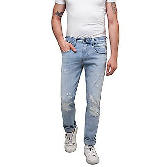 Replay Men-apos;s Anbass Aged 20 Years Slim Fit Jeans Replay Men-apos;s Anbass Aged 20 Years Slim Fit Jeans Replay Men-apos;s Anbass Aged 20 Years Slim Fit Jeans Replay Men