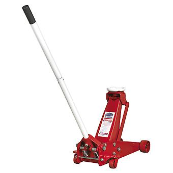 Sealey 3012Cxd Professional Trolley Jack 3Tonne Super Rocket Lift