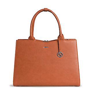 SOCHA Women's Handbag Straight Line 44 cm, Brown
