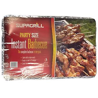 1,7 kg BBQ Tray Party Size Wegwerp Barbecue Garden Food Grill