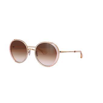 DITA Lageos DTS532 03 White Rose Crystal Rose Gold/Dark Brown Sunglasses