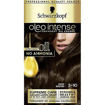 Schwarzkopf Oleo Intense Hair Color - 3-10 Deep Brown