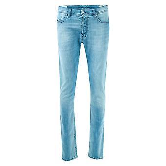 Men's Diesel Tepphar Slim Carrot Fit Jeans in Blue