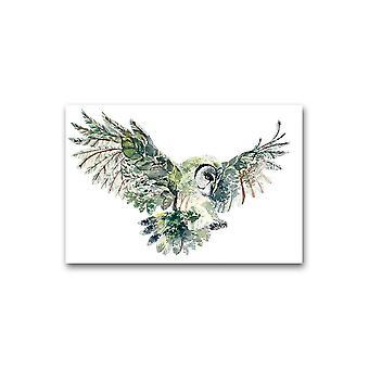 Forest Owl Poster -Bilde av Shutterstock