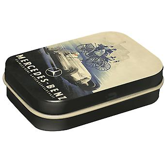 Vintage Mercedes Benz - Sugar Free Mint Tin - Cracker Filler Gift