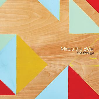 Minus the Bear - Fair Enough [CD] USA import