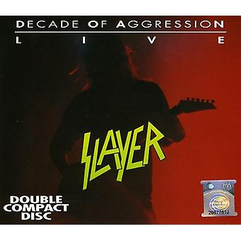 Slayer - Live-Decade of Aggression [CD] USA import