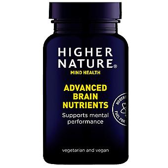 Higher Nature Advanced Brain Nutrients Vegetable Capsules 180 (QAB180)