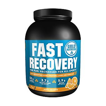 Fast Recovery (Orange Flavor) 1 kg of powder (Orange)