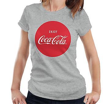 Coca Cola geniet van Circle Women's T-shirt