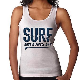 London Banter ter um swell dia surf mulheres ' s Vest