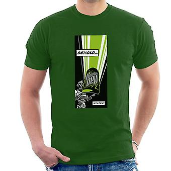 Mountain Dew Behold Comic Strip Men's T-Shirt