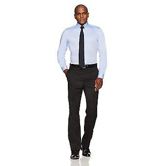 BUTTONED أسفل الرجال & apos;ق سليم صالح زر ذوي الياقات البيضاء غير الحديد اللباس قميص (لا جيب), ...