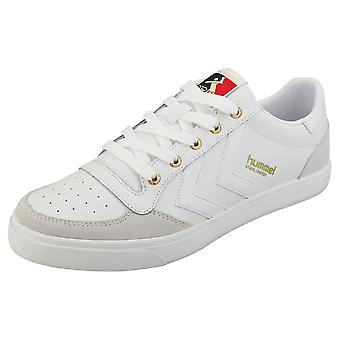 hummel Stadil Limited Low Mens Fashion Trainers in White