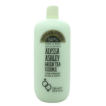 Alyssa Ashley Green Tea Essence Hand and Body Moisturiser 750ml *WE ARE CURRENTLY SELLING THIS AT COST PRICE*