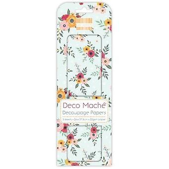 Première édition Deco Mache Floral Spray
