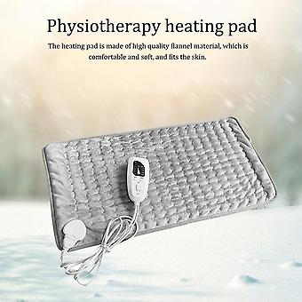 Physiotherapy Electric Heating Pad - Blanket For Fast Pain Relief Relax Muscle Temperature Dimming Damp Dry Heat Therapy And Neck Abdomen