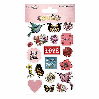 Dovecraft Folkland Puffy Stickers